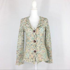 BCBG Max Azria Knit Cardigan Sweater Medium